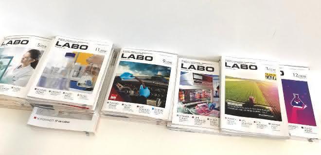 LABO-Ausgaben der Jahre 2018 und 2019