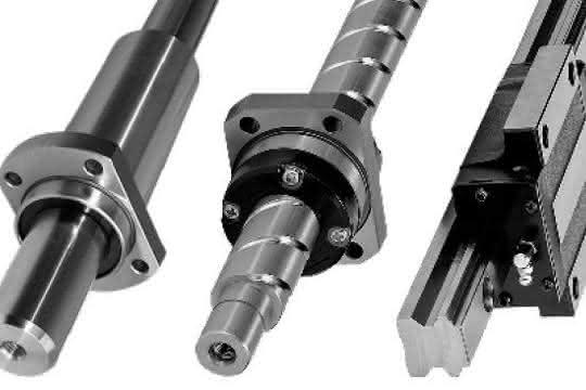 Drehmomentkugelbuchsen, Kugelgewindetriebe und Profilschienenführungen