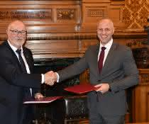 Häfen in Lettland und der Region Hamburg verstärken Zusammenarbeit