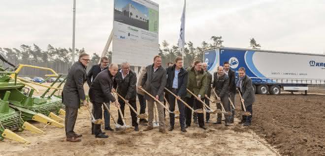Krone Gruppe baut neues Validierungszentrum Future Lab