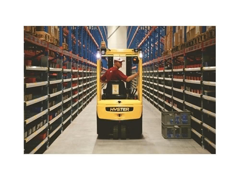 Gegengewichts- und Lagertechnikstapler: Hyster Stapler mit Lithium-Ionen-Batterien