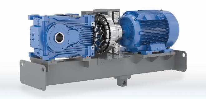2-stufiges Kegelstirnradgetriebe MAXXDRIVE XT