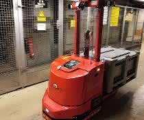 FTS im ICE Werk: Ersatzteile autonom ans Gleis