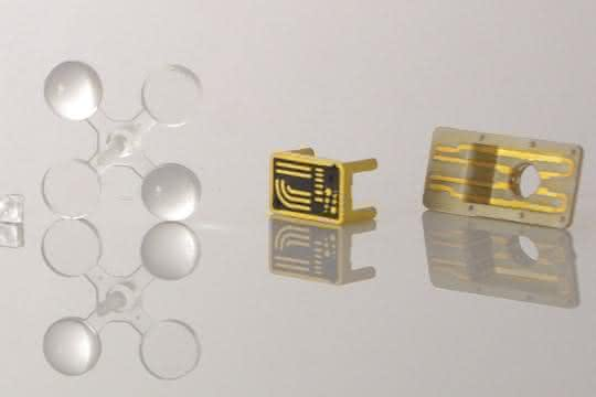 Mikroformteile finden in verschiedenen Branchen Anwendung.