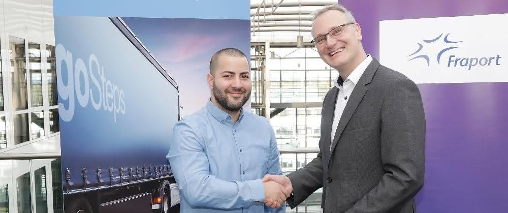 """Luftfracht-Innovationen fördern: Fraport steigt in Start-up-Lab für Logistik """"HAUS61"""" ein"""