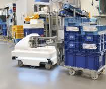 Autonome Transportroboter: Weniger Laufwege –  mehr Zeit für Innovationen