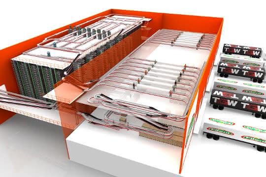 Automatisierungslösung: TGW realisiert Distributionszentrum für Geflügelfleisch-Spezialisten