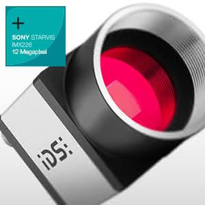 12 MP IDS-Kameras für Labor & Medizin