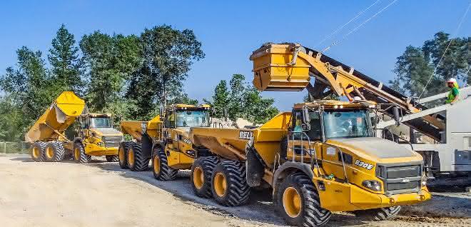 Der neue B45E 4x4 bietet die Vorteile der Bell-Zweiachser jetzt auch in der 40-Tonnen-Klasse
