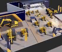 Auf 2.700 Quadratmetern präsentiert Hyundai Construction Equipment Europe einen Querschnitt seines Portfolios.