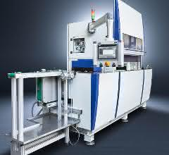 Die Maschine zum Bürstentgraten DA300P entgratet Teile schnell und prozesssicher und sorgt für hohe Oberflächenqualität.