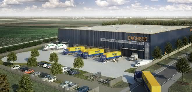 Panattoni Europe errichtet ein Warehouse für Dachser in Alsdorf bei Aachen