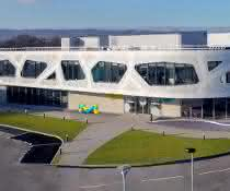 Das M Lab Collaboration Center in Molsheim, Frankreich.