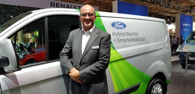 Mark Harvey, Director Commercial Vehicle Mobility Solutions