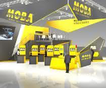 bauma-Stand der Moba