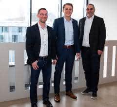 Die neue Spitze von Goldbeck Rhomberg für Österreich und die Schweiz (v. l. n. r.): Kurt Mayer, Michael Schmid und Georg Vallaster.