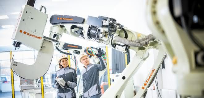 Kawasaki Robotics: Highspeed-Roboter bis Superbike