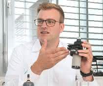 Christian Baer, Produktmanager Atlas Copco