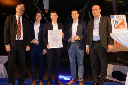 Preisverleihung beim Materialfluss-Kongress: VDI Innovationspreis 2019 für Motion Miners GmbH