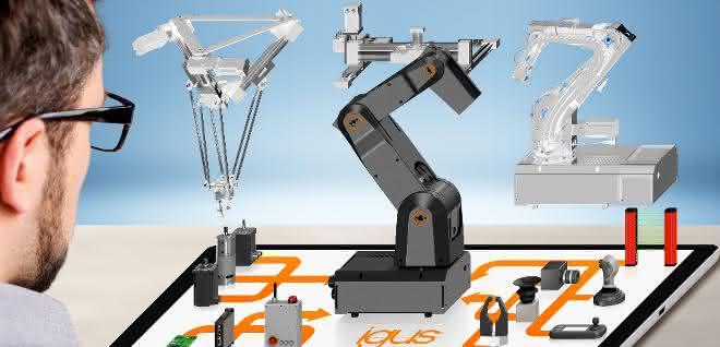 Günstig einsteigen: Robolink-Gelenkarme und digitales Plattform-Konzept