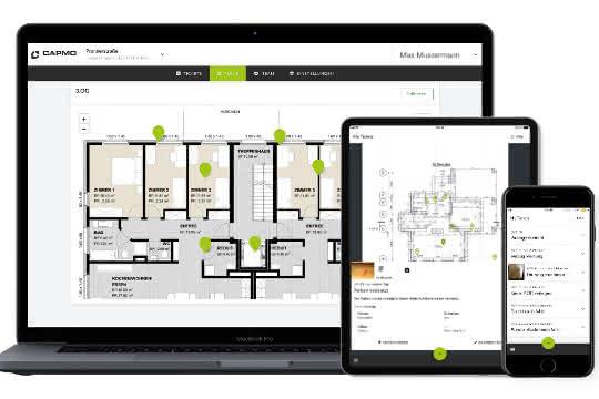 Digitaler Bauplan für die Baudokumentation