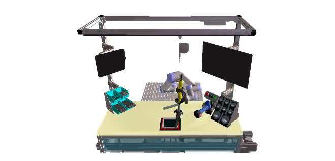 Kollaborative Montage will geübt sein: Virtual Reality zur Arbeitsplanung und Schulung