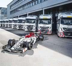 Iveco ist offizieller Truck-Partner von Alfa Romeo