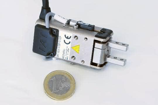 Handhabungstechnik: Großes und Kleines elektrisch Greifen