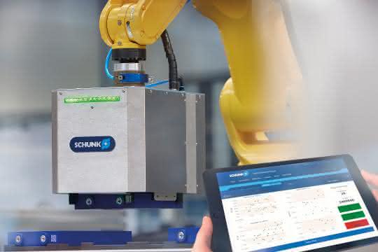 Batterieproduktion: Smarter Greifer zur integrierten Batteriezell-Prüfung
