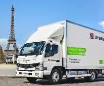 DB Schenker und FUSO kooperieren: Emissionsfrei durch die Innenstädte