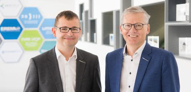 Manfred Hackl, CEO Erema Group GmbH, Horst Wolfsgruber, CFO EREMA Group GmbH