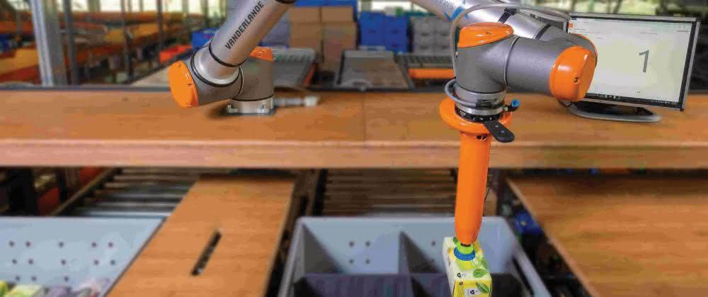 KI-Software für Robotics-Lösungen: Vanderlande und Fizyr kooperieren