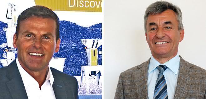 Michael Tregner (links) tritt in die großen Fußstapfen von Ulrich Eberhardt.
