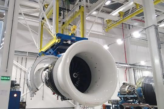 """Hebetechnik für Düsentriebwerke: """"Ready to take off""""  − Triebwerke präzise heben"""