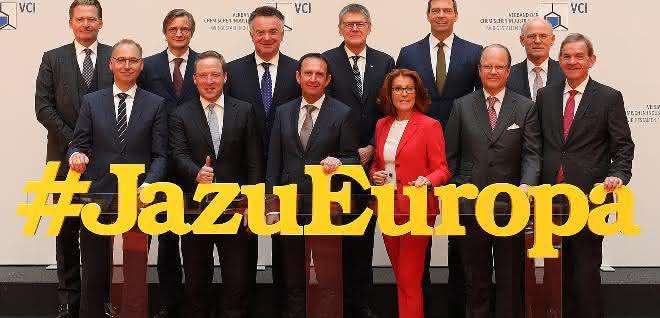"Das Präsidium des VCI sagt ""Ja zu Europa""."