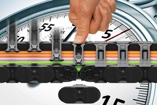 Werkzeuglos Öffnen: Neue Energiekettengeneration