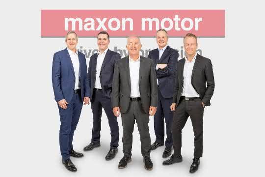 Maxon Motor passt Führungsstrukturen an