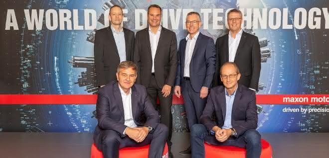 Lokale Geschäftsleitung von Maxon Schweiz