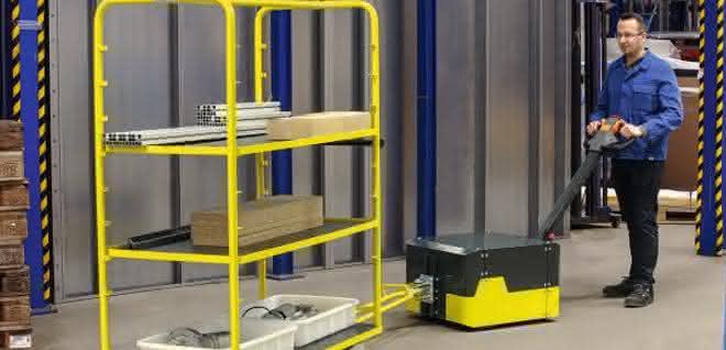 Lasten effizient transportieren: Mini-Elektroschlepper für flexiblen Ladungstransport