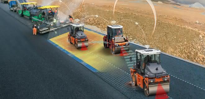 Arbeitsbedingungen im Straßenbau
