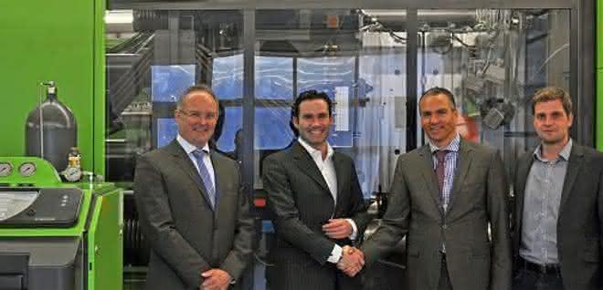 Klaus Mittmannsgruber, Mario Haidlmair, Raffael Kurz und Christian Wolfsberger