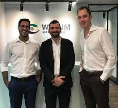 Orchun Thakral, Senior Manager of Sales & Marketing (Werum IT Solutions Ltd.); Emad Shabbir, Director (Emad Trade House); David Margetts, Managing Director (Werum IT Solutions Ltd.)