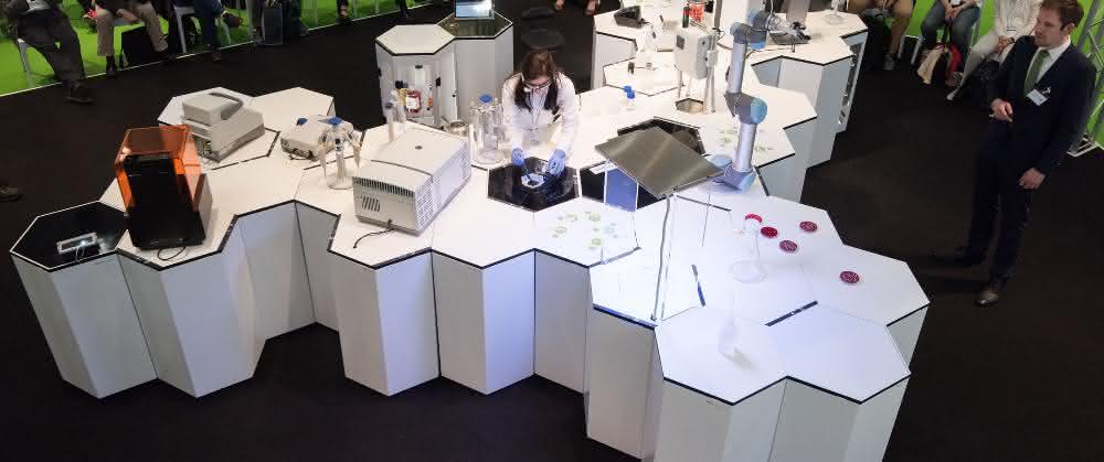 Das SmartLAB auf der Labvolution 2017