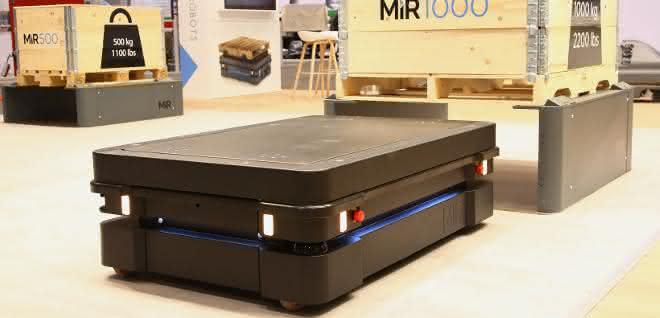 Autonome Transportroboter: Stark und vernetzt: MiR präsentiert Innovationen auf der Automate