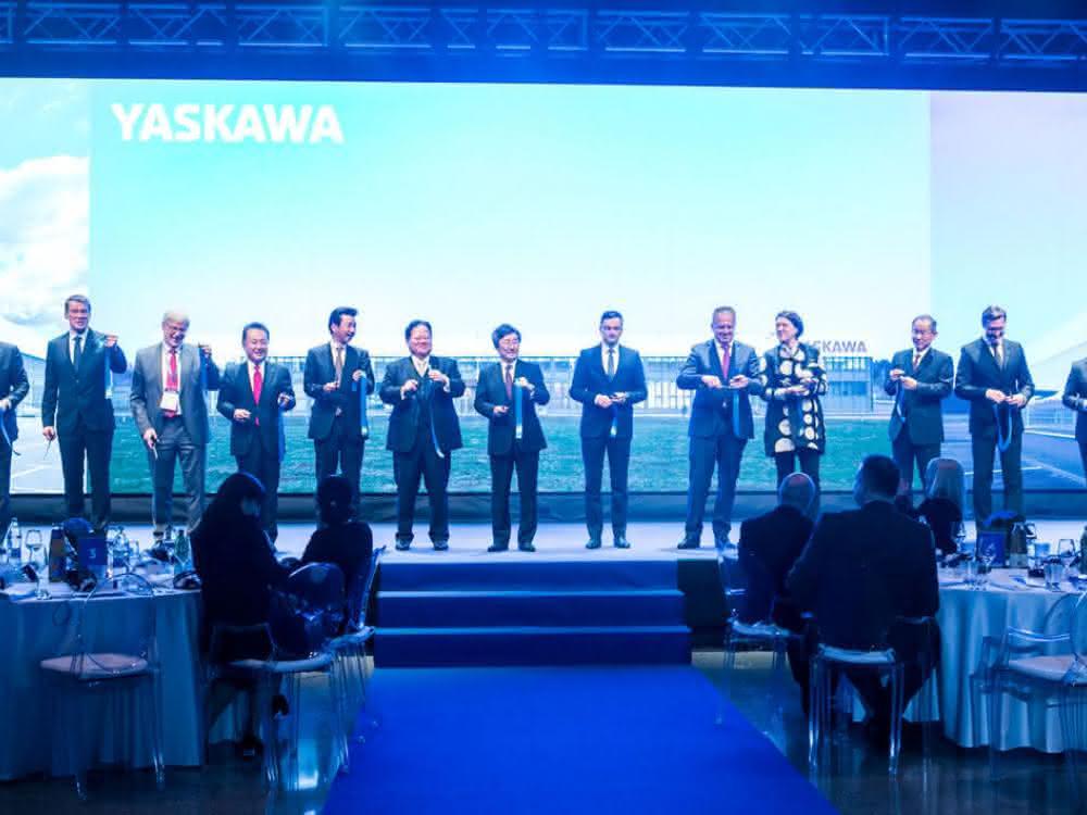 Yaskawa-Slowenien-Eroeffnung