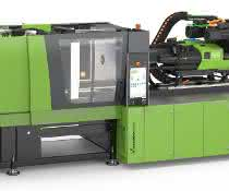 Mit der Herstellung von Steckergehäusen soll eine neue Baugröße der vollelektrischen Maschinen-Baureihe während der Fakuma vorgestellt werden. (Bild: Engel)