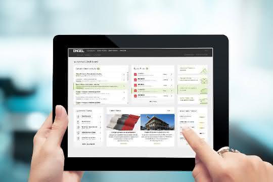 Auf kurzem Weg zu allen Informationen: Das Kundenportal soll in der neuen Version eine übersichtlichere Struktur und weitere Funktionalitäten erhalten. (Bild: Engel)
