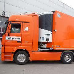 Pharmalogistik für Nutzfahrzeuge: Thermo King-Dienstleister unterstützen bei GDP-konformer Ausstattung