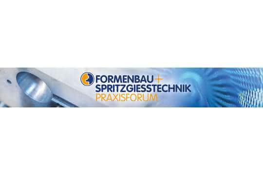 Logo zum Praxisforum Formenbau+Spritzgießtechnik