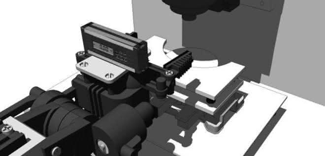 Einachsiger Elektronik-Neigungsmesser Tech 500 DP